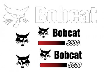 Kit de Autocolantes para BobCat S530