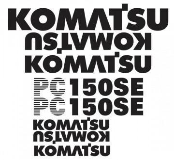 Kit de Autocolantes para KOMATSU PC150 SE