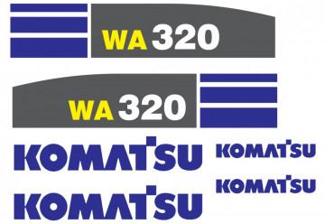 Kit de Autocolantes para KOMATSU WA 320