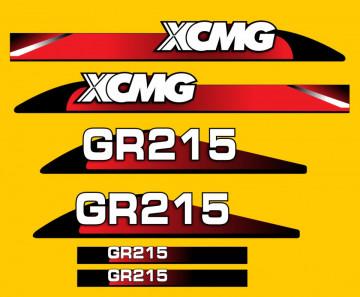 Kit de Autocolantes para XCMG GR215
