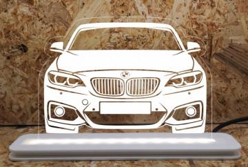 Moldura / Candeeiro com luz de presença - BMW F22