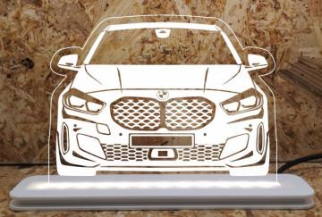 Moldura / Candeeiro com luz de presença - BMW Série 1 F40