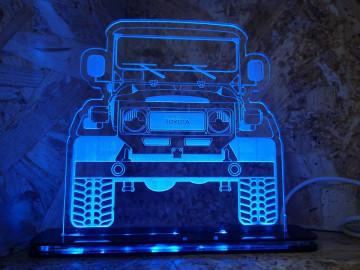 Moldura / Candeeiro com luz de presença - Toyota Land Cruiser