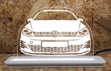 Moldura / Candeeiro com luz de presença - Volkswagen Golf VII (7)
