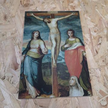 Placa Decorativa em PVC - Jesus Cisto