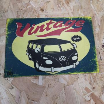 Placa Decorativa em PVC - Vw Pão de forma