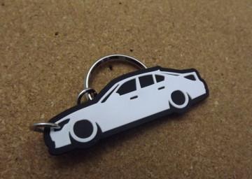 Porta Chaves com silhueta de BMW E60 - Série 5