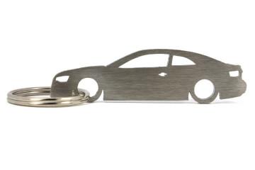 Porta Chaves em inox com silhueta com Audi A5 8T Coupe