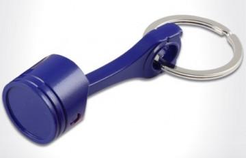 Porta Chaves - Pistão - Azul escuro