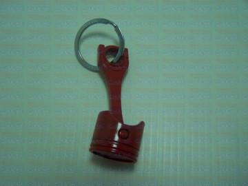 Porta Chaves - Pistão Vermelho