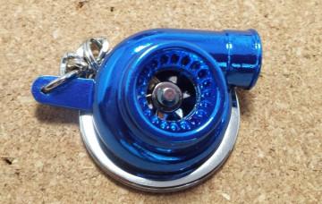 Porta Chaves - Turbo (Funcional) - Azul