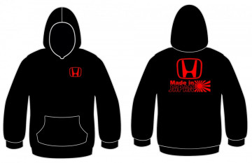 Sweatshirt com capuz com Made in Japan - Honda