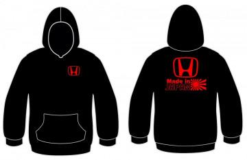 Sweatshirt com capuz com Made in Japan - Honda