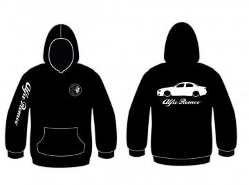 Sweatshirt com capuz para Alfa Romeo 156