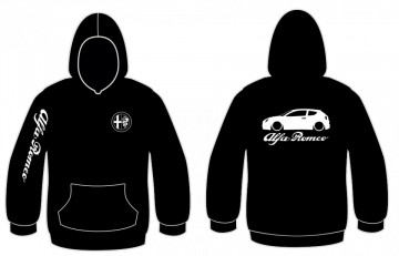 Sweatshirt com capuz para Alfa Romeo Mito