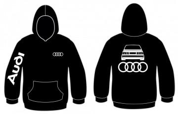 Sweatshirt com capuz para Audi 80 B2