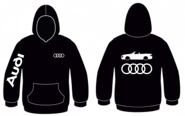 Sweatshirt com capuz para Audi 80 Cabrio