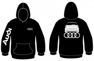 Sweatshirt com capuz para Audi A4 B6 avant