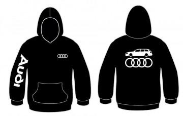 Sweatshirt com capuz para Audi A4 B7 Avant Lateral