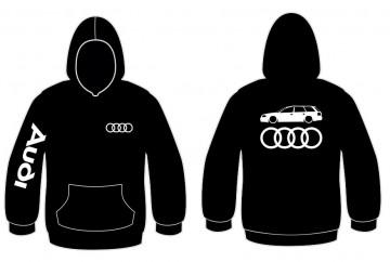 Sweatshirt com capuz para Audi A6 C5 Avant