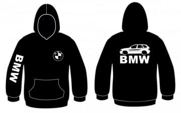 Sweatshirt com capuz para BMW X5
