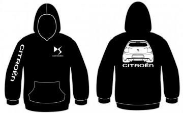 Sweatshirt com capuz para Citroen DS3