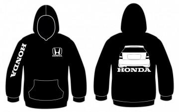 Sweatshirt com capuz para  Honda Civic EK traseira