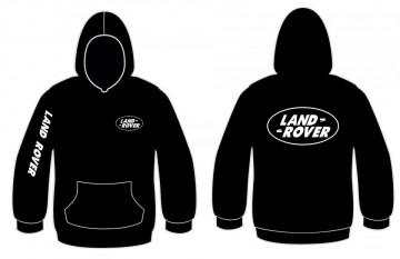 Sweatshirt com capuz para Land Rover