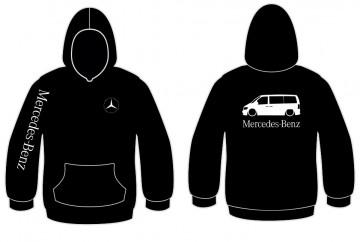Sweatshirt com capuz para Mercedes-Benz Vito