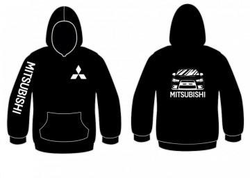 Sweatshirt com capuz para Mitsubishi Evolution X