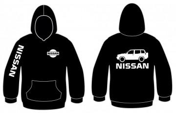 Sweatshirt com capuz para Nissan Terrano