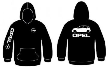 Sweatshirt com capuz para Opel Corsa 5 Portas