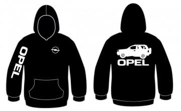 Sweatshirt com capuz para Opel frontera