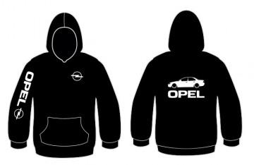 Sweatshirt com capuz para Opel Omega