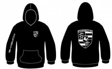 Sweatshirt com capuz para Porsche
