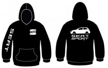 Sweatshirt com capuz para Seat Sport - Ibiza 6L