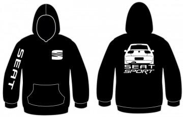 Sweatshirt com capuz para Seat Sport - Leon