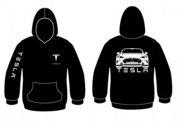 Sweatshirt com capuz para Tesla Model S
