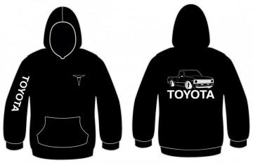 Sweatshirt com capuz para Toyota Hilux