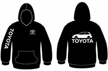 Sweatshirt com capuz para Toyota Starlet