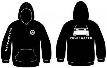 Sweatshirt com capuz para VW GOLF 2