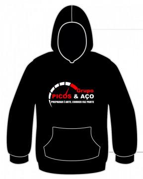 Sweatshirt com capuz - Picos & Aço