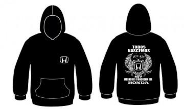 Sweatshirt com capuz Todos Nascemos (Honda)
