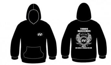 Sweatshirt com capuz Todos Nascemos (Hyundai)