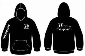 Sweatshirt para honda civic fn2