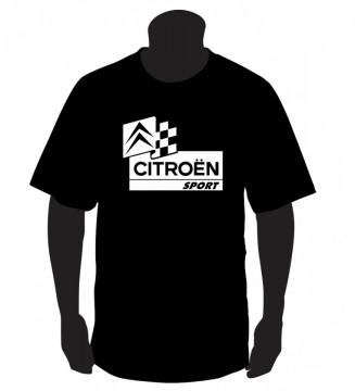 T-shirt com CITROEN SPORT