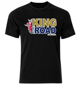 T-shirt com - King Of the Road - Scania