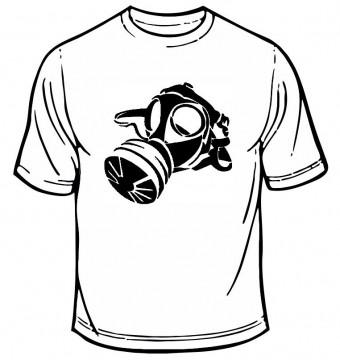 T-shirt - Máscara de Gás