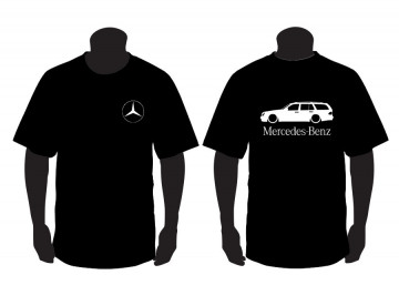 T-shirt para Mercedes-Benz W210 Station