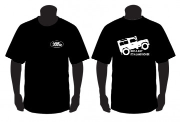 T-shirt para Not a Jeep is a Land Rover